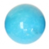 Turquonite Stabilized 10mm Round Bead Semi-Precious